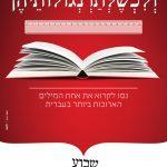 """הערות שקיבלתי על המודעות של שבוע העברית תשע""""ח"""